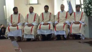 Cinco nuevos Diáconos en nuestra Arquidiócesis